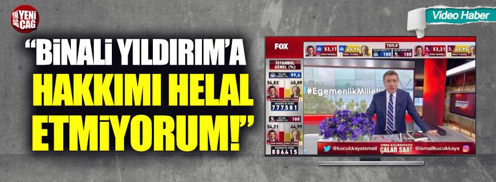 """Küçükkaya: """"Binali Yıldırım'a hakkımı helal etmiyorum"""""""