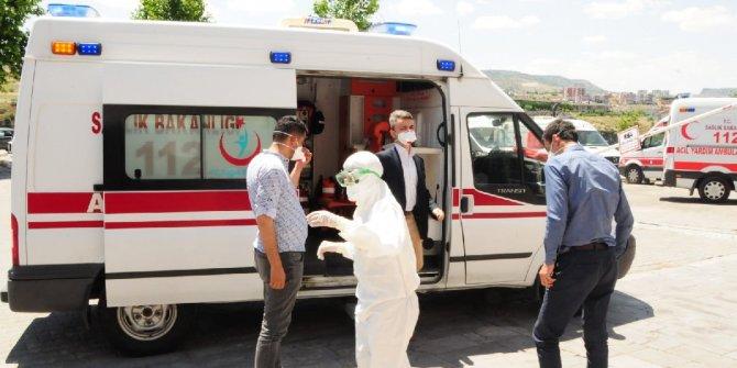 Nevşehir Adliyesi'nde 'şüpheli toz' alarmı