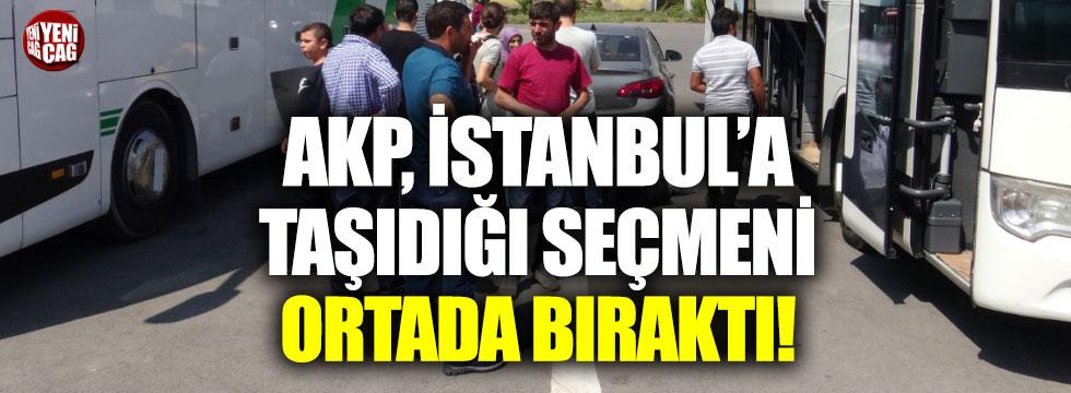 AKP, seçmeni yarı yolda bıraktı iddiası