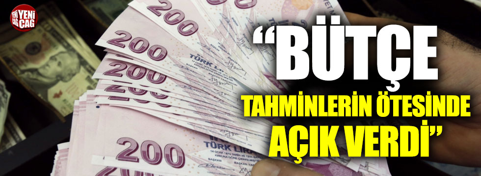 """İsmail Tatlıoğlu: """"Bütçe tahminlerin ötesinde açık verdi"""""""
