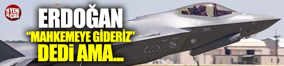 F-35'de dikkat çeken madde: Erdoğan ne demişti?
