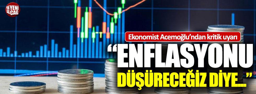 Ekonomist Daron Acemoğlu'ndan kritik uyarı
