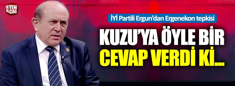 Burhan Kuzu'ya İYİ Parti'den sert tepki