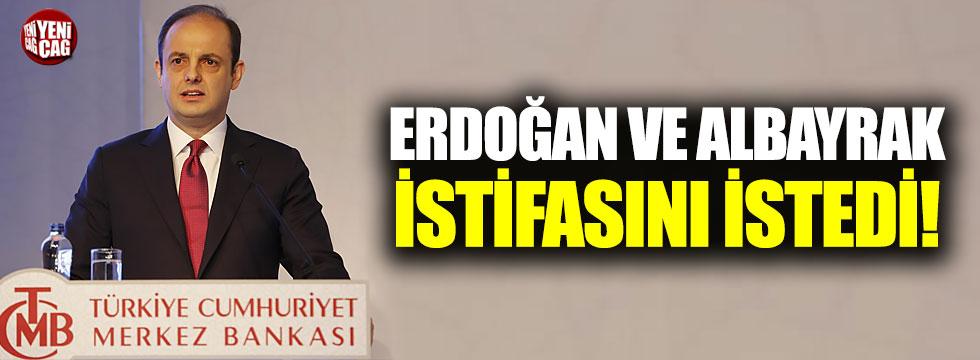 Erdoğan ve Albayrak Çetinkaya'nın istifasını istedi