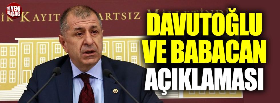 Özdağ'dan Davutoğlu ve Babacan açıklaması