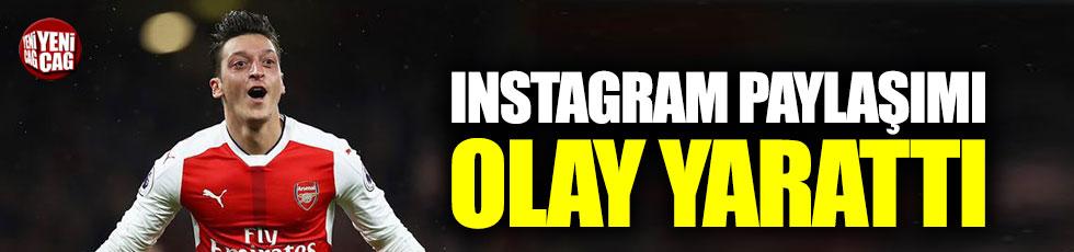 Mesut Özil'den olay paylaşım!
