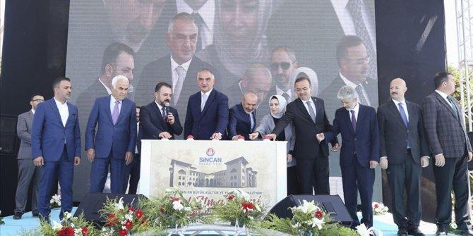 Sincan'a Ankara'nın en büyük kültür merkezi