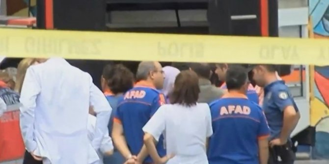 Ankara'da hastanede kimyasal alarm