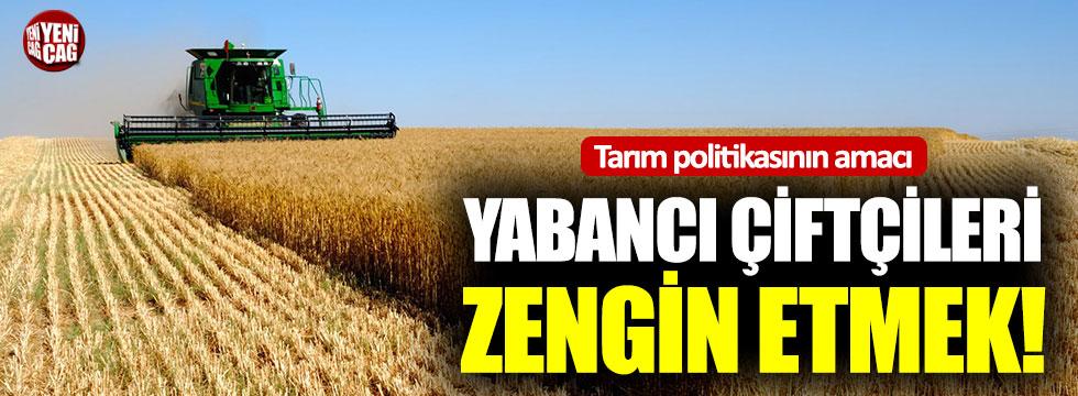 CHP'den iktidara tarım tepkisi