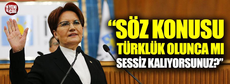 Akşener'den AKP'ye Doğu Türkistan tepkisi