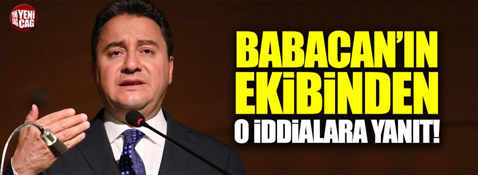 Babacan'ın ekibinden 'revize' iddialarına yanıt!