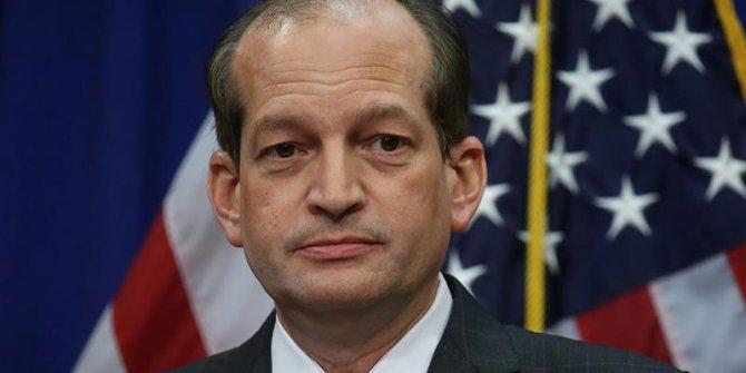 ABD Çalışma Bakanı İstifa etti