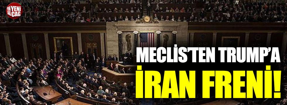 ABD'de Trump'a İran freni!