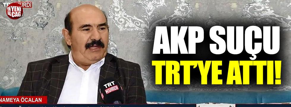 Numan Kurtulmuş, Öcalan rezaletinin suçunu TRT'ye attı