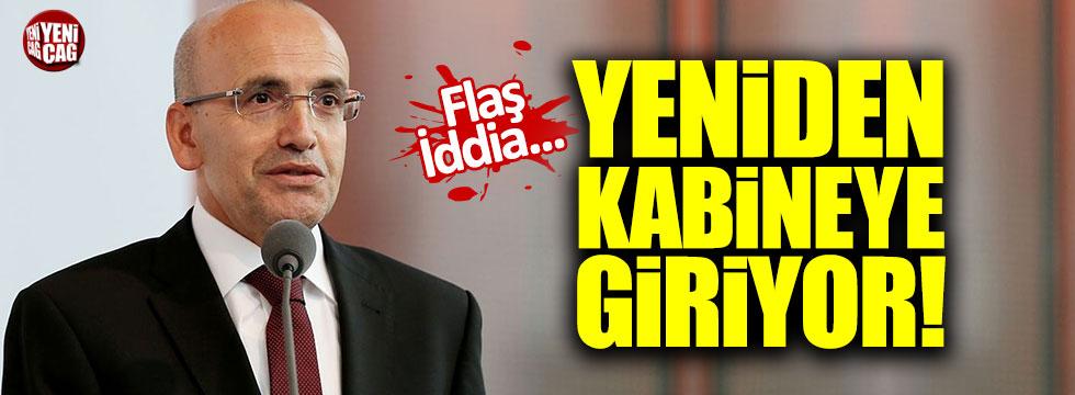 """""""Mehmet Şimşek yeniden kabineye girecek"""""""