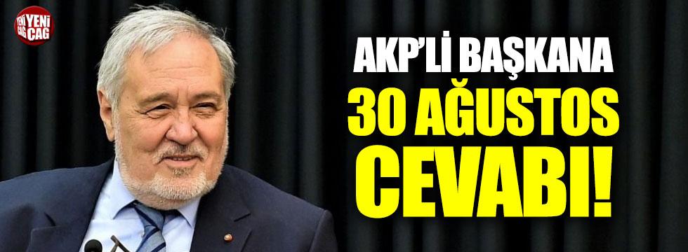 İlber Ortaylı'dan AKP'li Başkana cevap