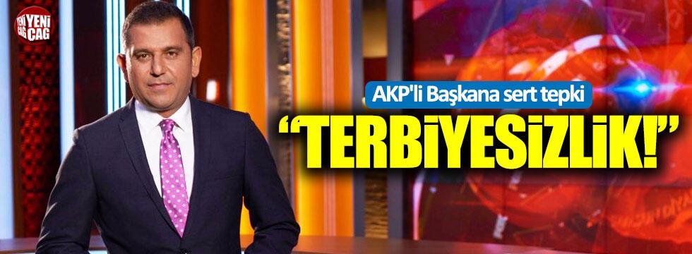 """Fatih Portakal'dan AKP'li Başkan Alinur Aktaş'a sert tepki: """"Terbiyesizlik"""""""