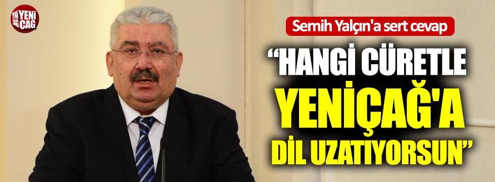 Ahmet Çelik'ten Semih Yalçın'a cevap