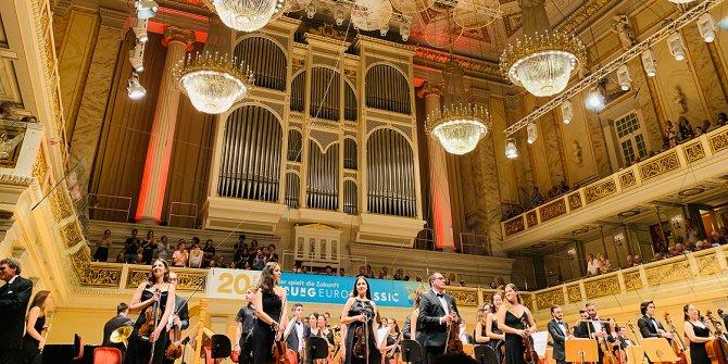 Türkiye Gençlik Filarmoni Orkestrası'ndan Berlin'de konser