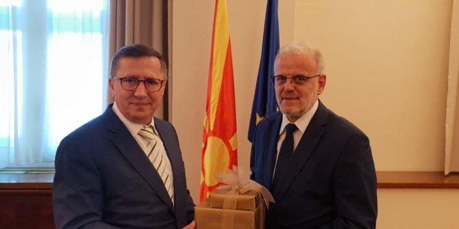 İYİ Parti heyeti Makedonya'da