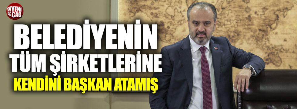 AKP'li Aktaş belediyenin tüm şirketlerine kendini başkan atamış