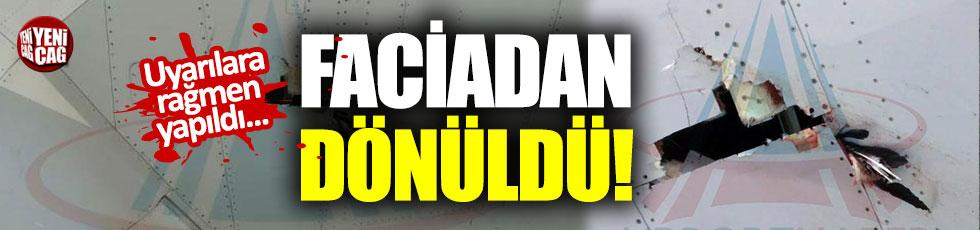 İstanbul Havalimanı'nda faciadan dönüldü