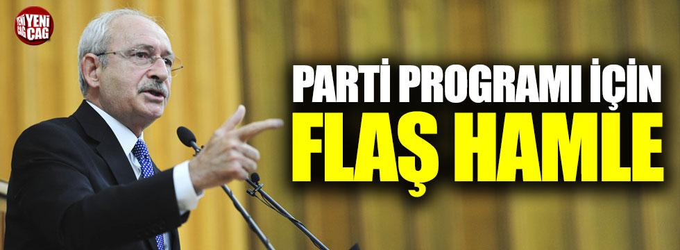CHP parti programını halka soracak