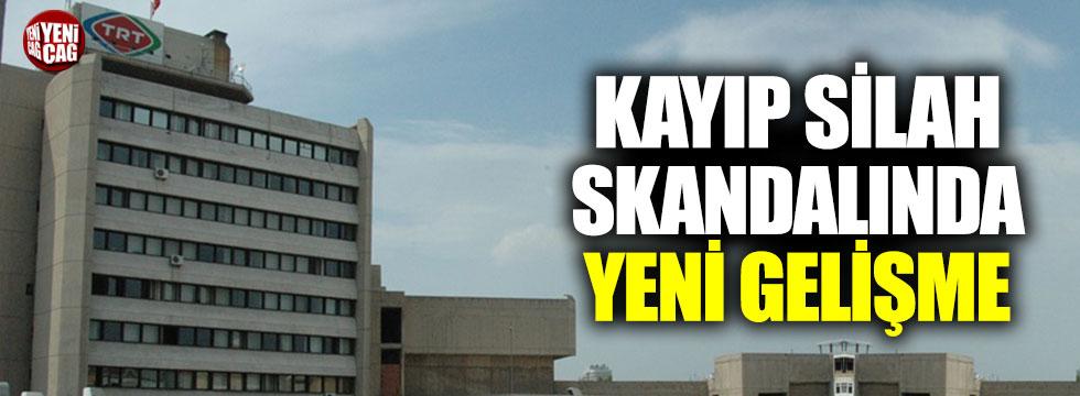 TRT'nin kayıp silahlarından haber yok