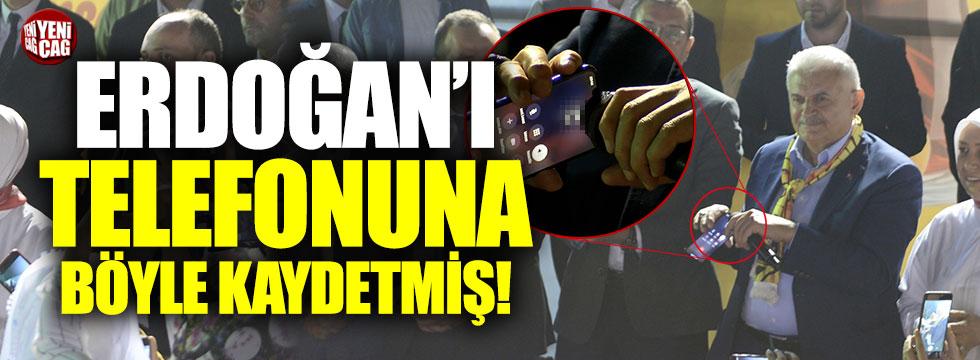 Binali Yıldırım, Erdoğan'ı telefonun böye kaydetmiş