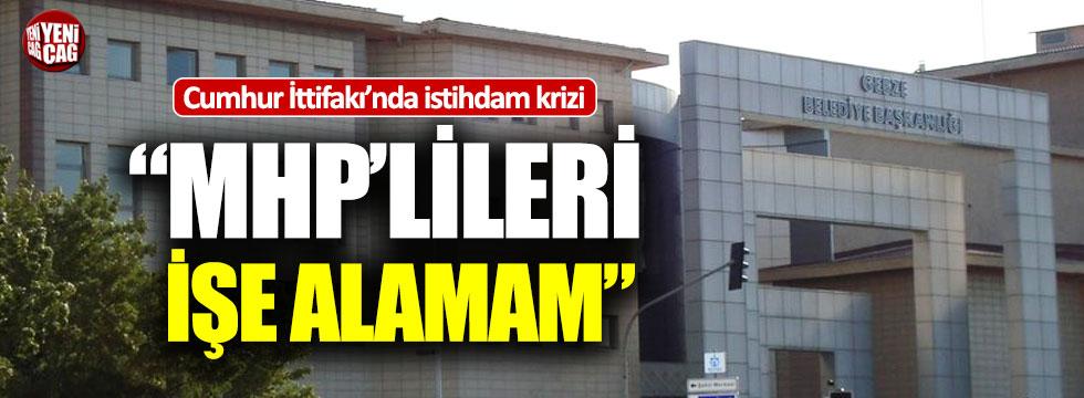 """AKP'li Başkan: """"Ülkücüleri işe alamam"""""""
