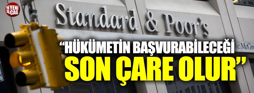S&P'den Türkiye mesajı