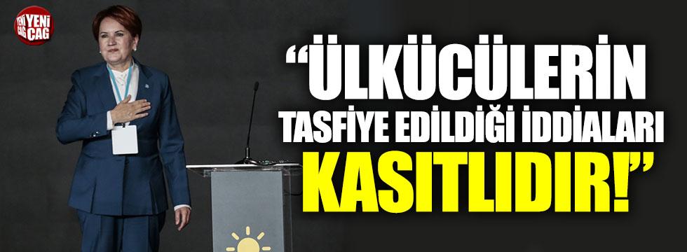 """""""Ülkücüler tasfiye ediliyor"""" iddiasına İYİ Parti'den sert cevap"""
