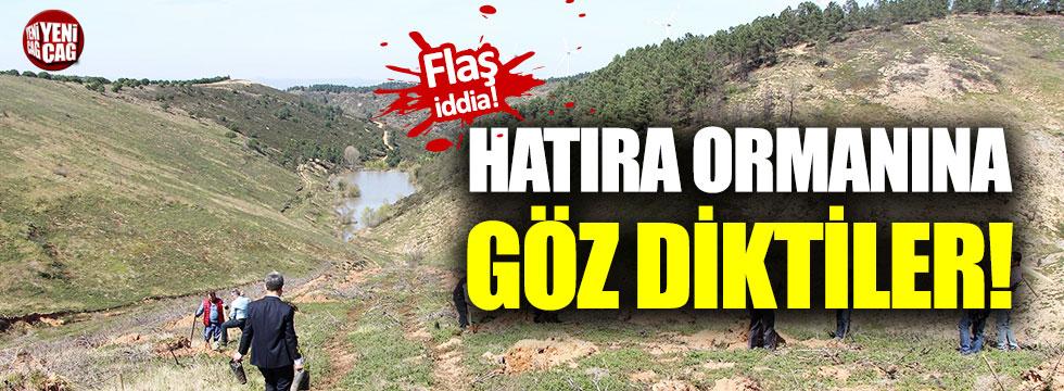 TSK hatıra ormanı imara açılıyor iddiası!