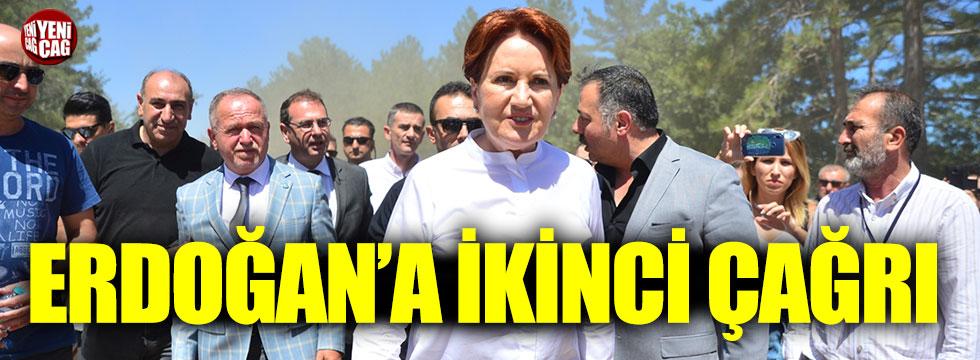 Akşener, Erdoğan'a çağrısını yineledi