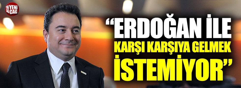 """""""Babacan, Erdoğan ile karşı karşıya gelmek istemiyor"""""""