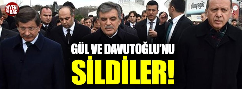 AKP, 18 yıllık hikayesinde Abdullah Gül ve Ahmet Davutoğlu'nu yok saydı