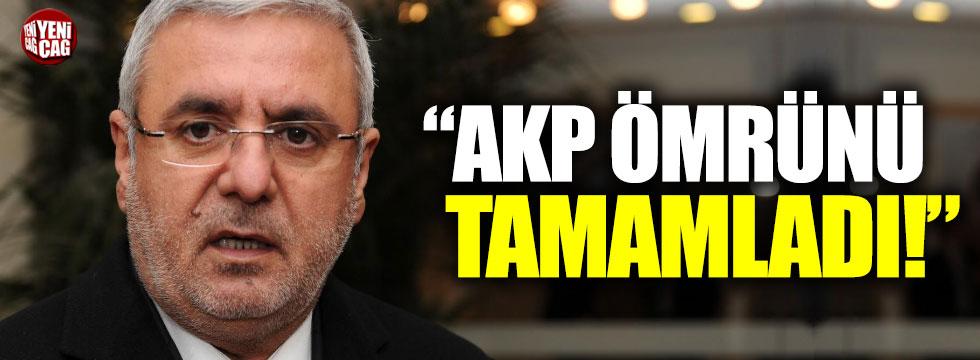 """Mehmet Metiner: """"AK Parti ömrünü tamamladı"""""""
