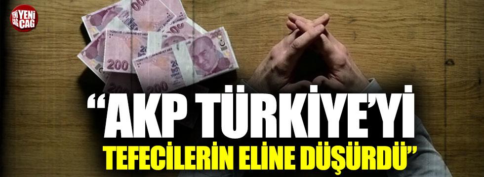 Türkiye tefecilerin elinde mi?