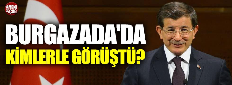 Davutoğlu ekibini Burgazada'da mı topladı?