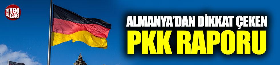 Almanya'dan dikkat çeken PKK raporu