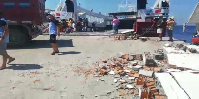 Avşa'da feribot kazası