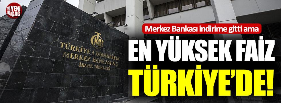 Türkiye OECD'de en yüksek faize sahip ülke!