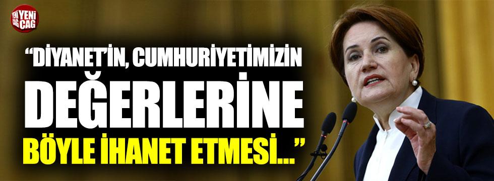 Meral Akşener'den Diyanet'e 30 Ağustos tepkisi
