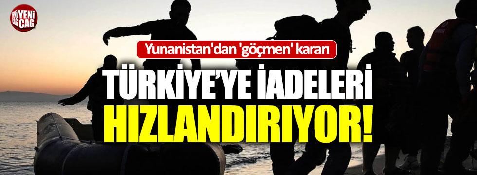 Yunanistan'dan Türkiye'yi ilgilendiren 'göçmen' kararı