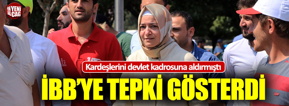 Kardeşlerine devlette iş bulan AKP'li Kaya'dan İBB'ye tepki!