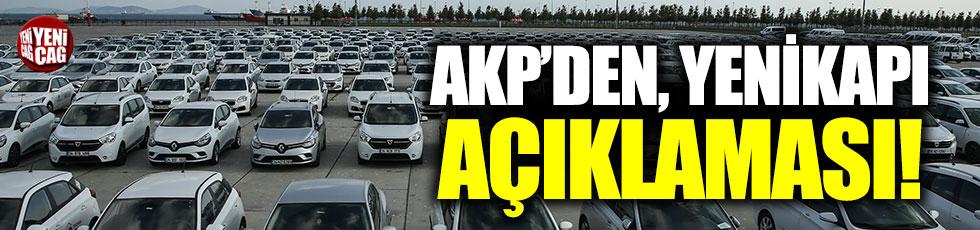 AKP'den Yenikapı açıklaması