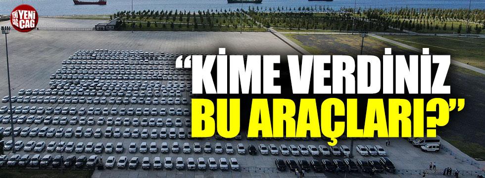 """Kılıçdaroğlu: """"Kime verdiniz bu araçları?"""""""