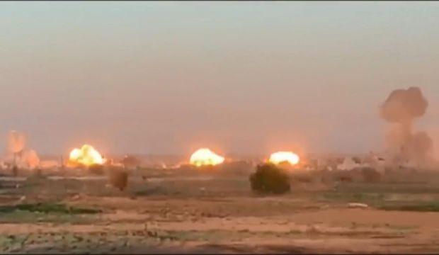 Koalisyon güçlerinden İŞİD'e operasyon