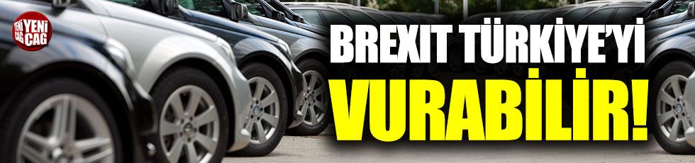Brexit en çok otomotiv sektörünü vuracak