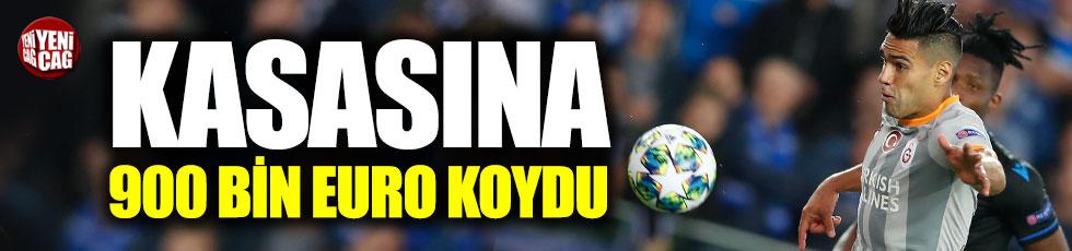 Galatasaray 900 bin Euro'yu kasasına koydu